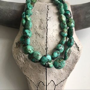 Jewelry - Genuine Turquoise Double-Strand Necklace